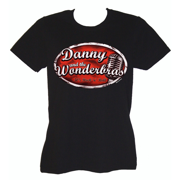 Bandlogo-Shirt (Women) € 15,-